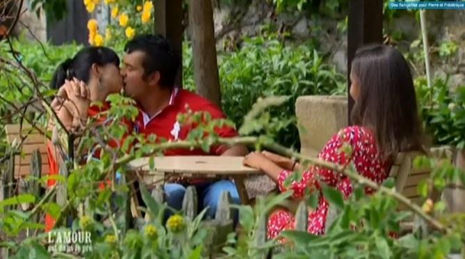 Frédérique et Pierre, l'un des couples de L'Amour est dans le pré