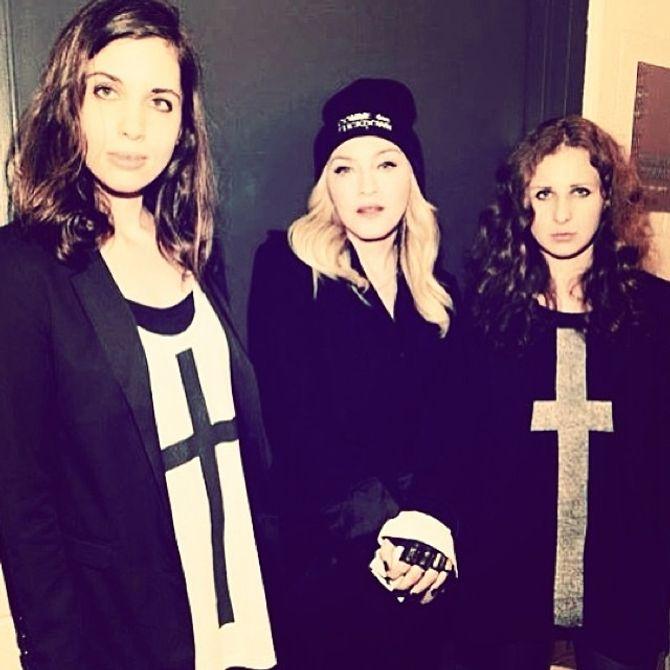 Madonna : Deux Pussy Riot virées de leur groupe à cause d'elle
