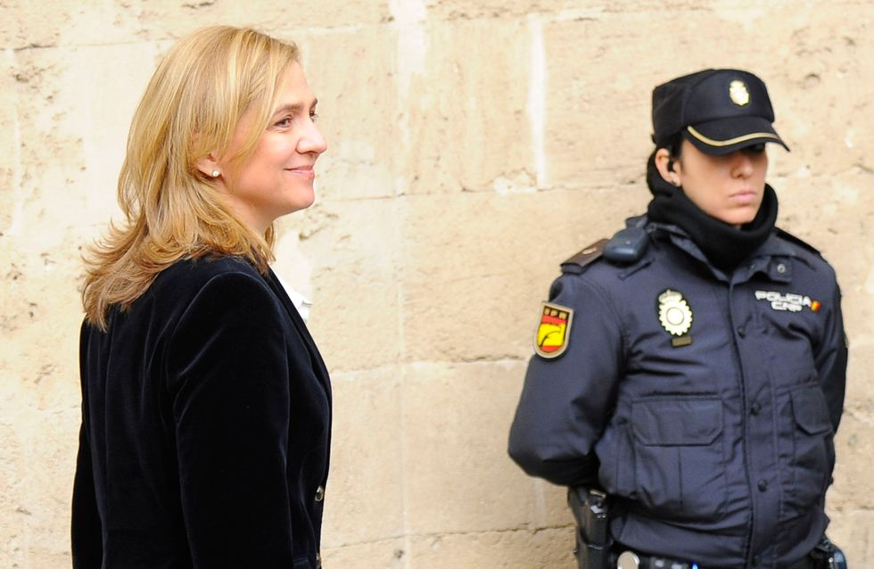 La infanta Cristina declara ante el juez