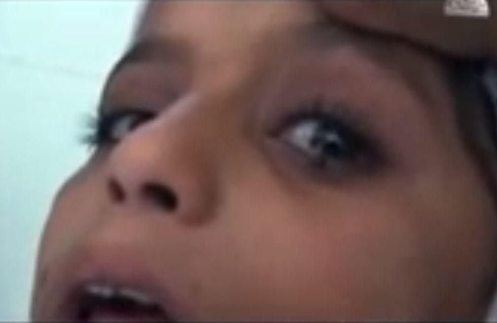 Saadiya Saleh, la fillette qui pleure des larmes de pierre (vidéo)