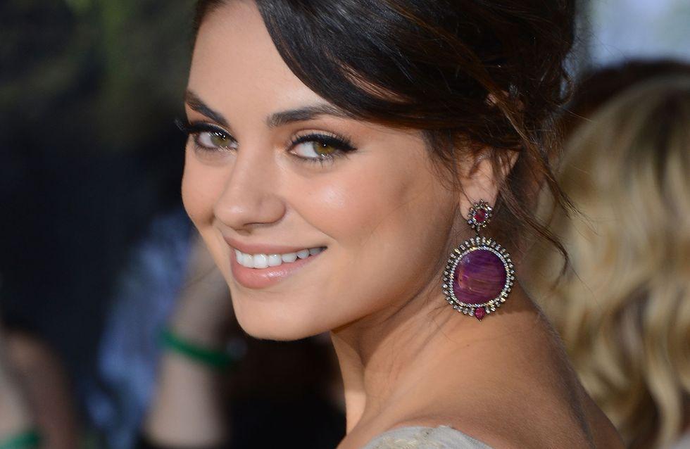 Mila Kunis : Sans maquillage pour une pub (photo)