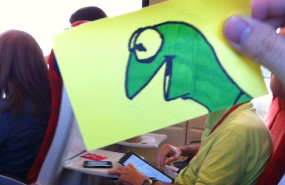 Langweilig im Zug? Wir hätten da eine geniale Idee ...