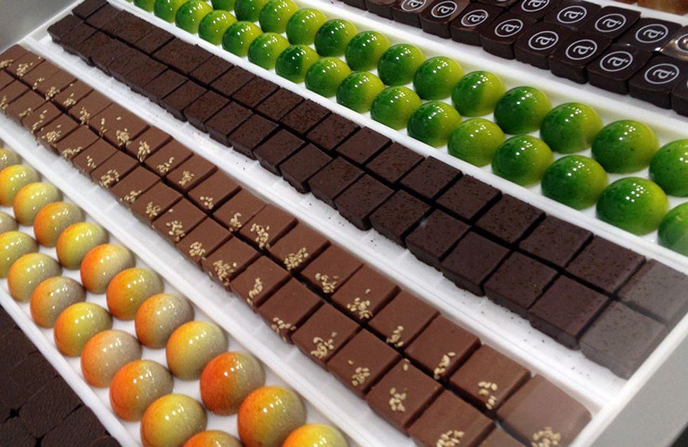 En images: Le Salon du Chocolat à Bruxelles