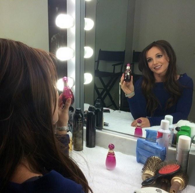 Britney Spears brune pour ses parfums