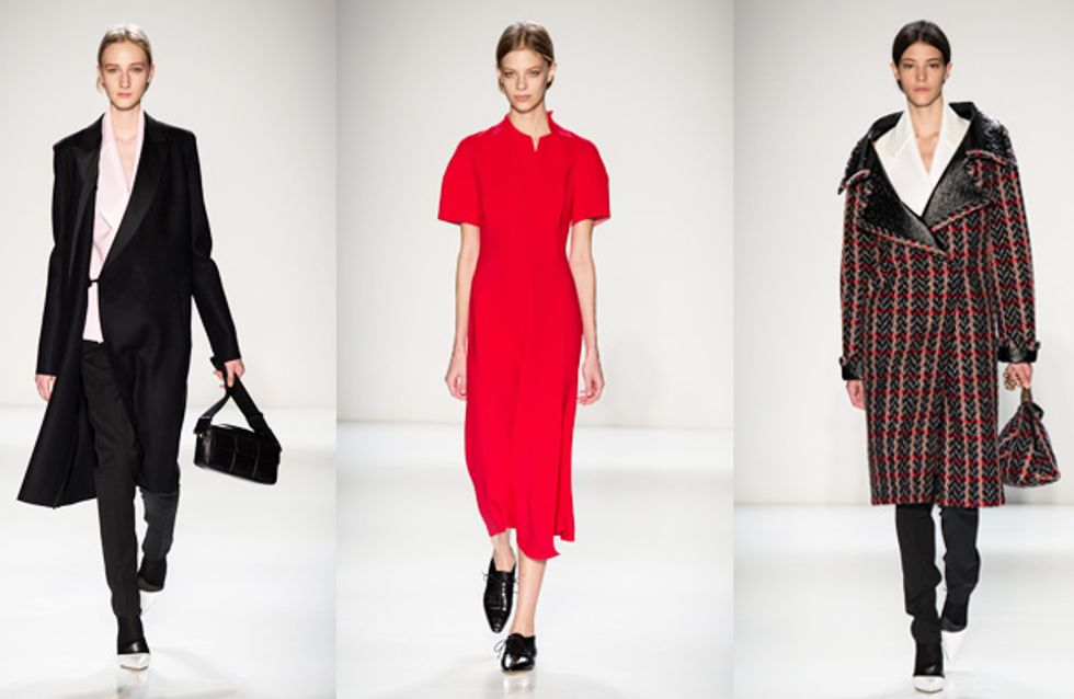 Victoria Beckham's NYFW Show: The OMG Moments We Can't Stop Talking About