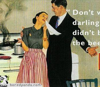 La publicidad vintage, ¿cómo era la imagen de la mujer en los años 40?