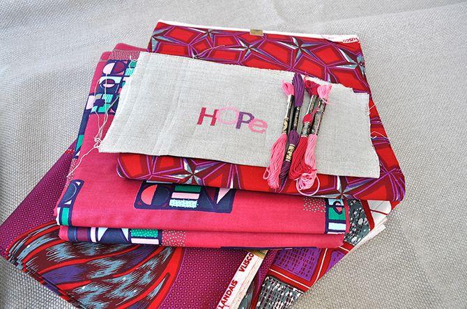 Fabricage van de tassen