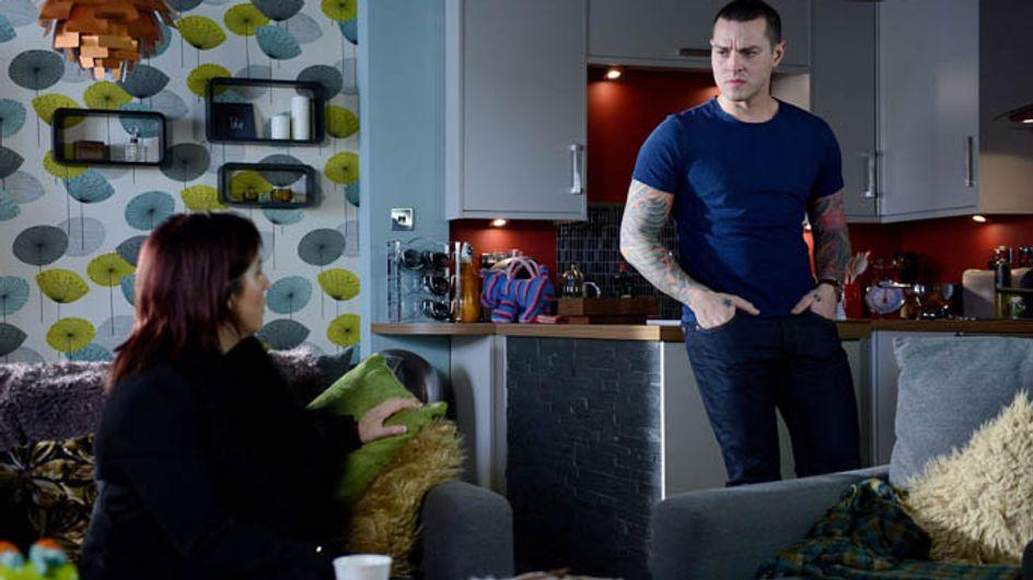 Eastenders 20/02 – Alfie lies to Luke