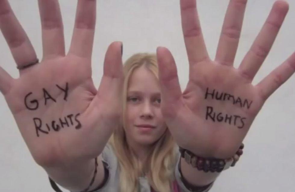 A 12 ans, cette enfant crée un court-métrage bluffant en faveur du mariage gay (Vidéo)