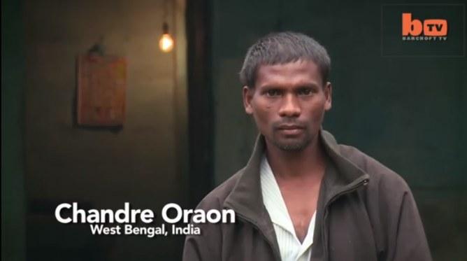 Chandre Oraon, l'homme à la queue