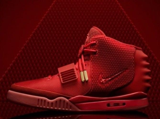 La fameuse paire de baskets Nike Air Yeezy 2 by Kanye West