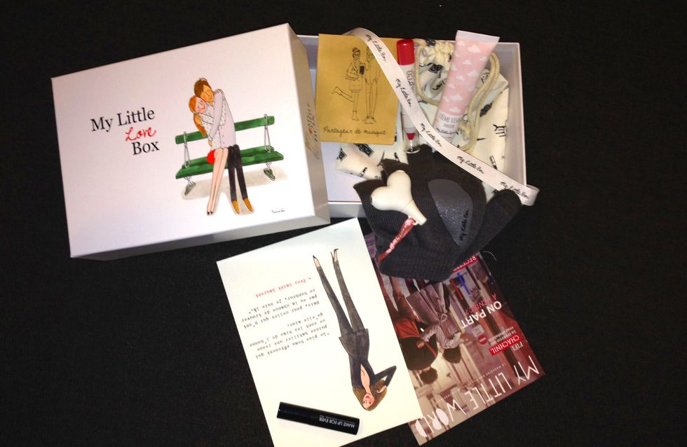 Saint-Valentin : J'ai testé My Little Love Box