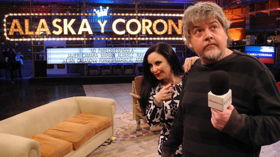 'Alaska y Coronas', los nuevos 'Reyes' de la televisión