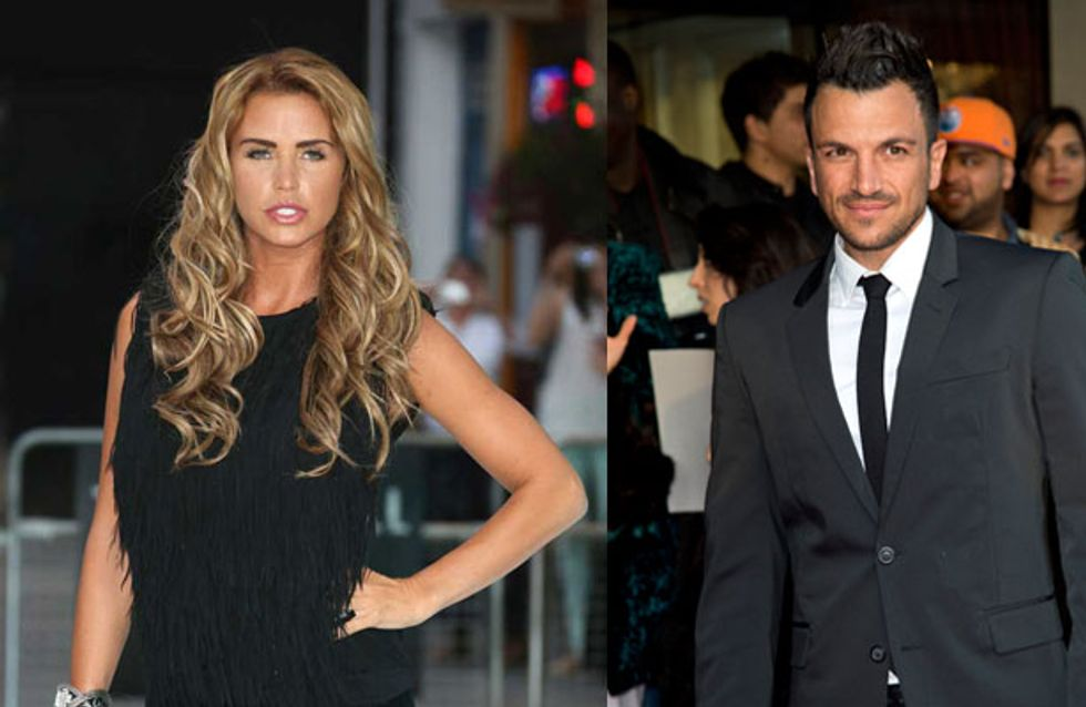 Katie Price's ongoing war against Peter Andre