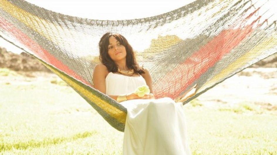 Raquel del Rosario, embarazada de 3 meses y medio