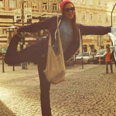 JO de Sotchi 2014 : Cette athlète a une manière bien à elle de s'échauffer (vidéo)