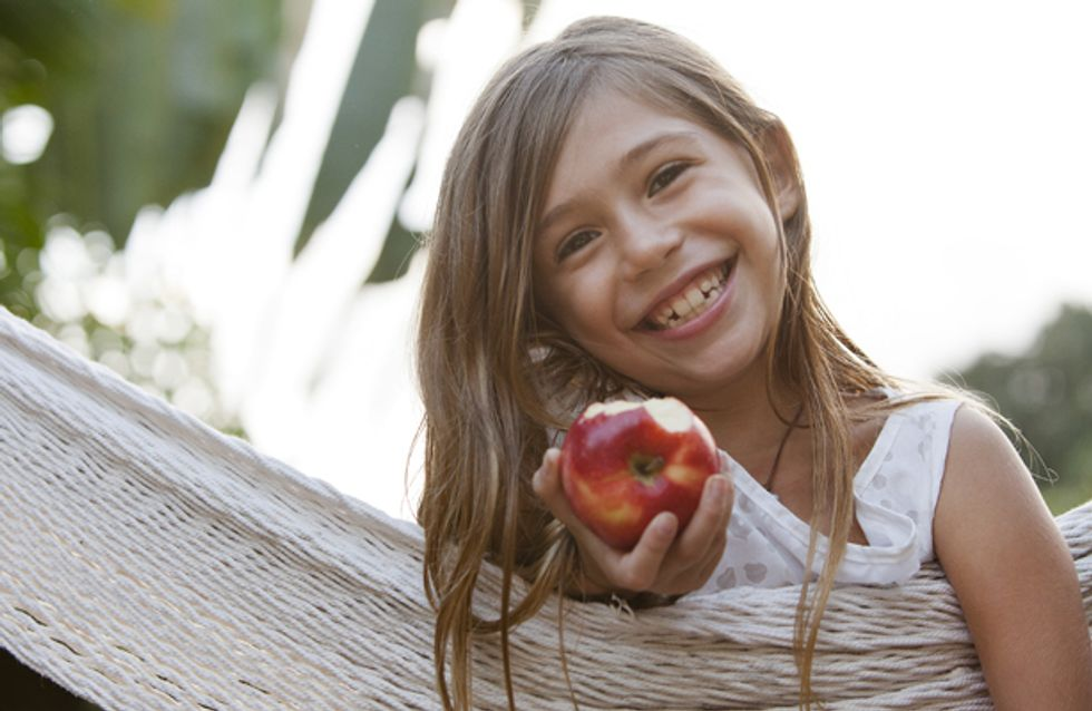 Eat those greens: How to give your kids healthy eating habits