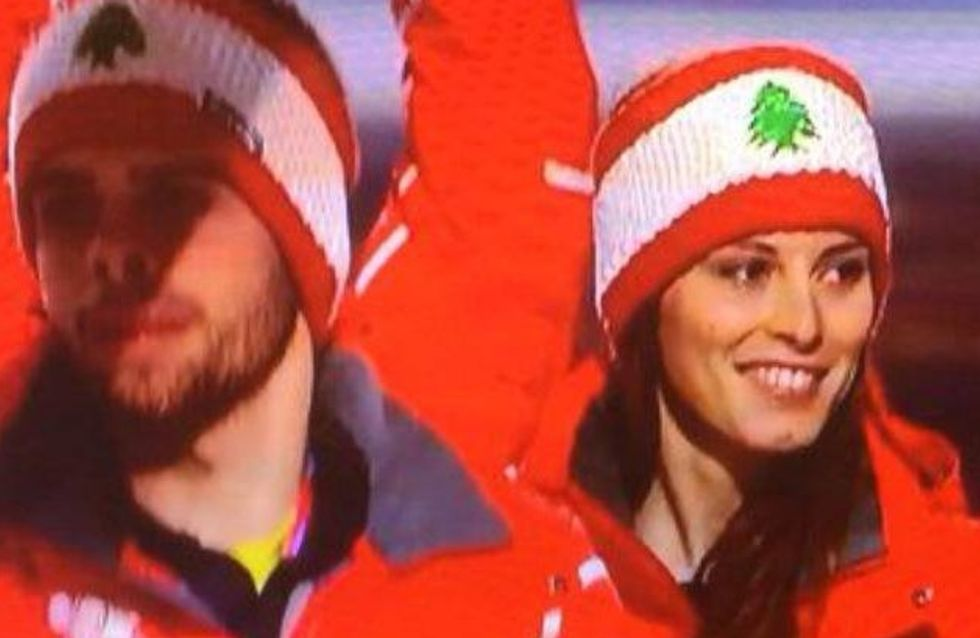 Sotchi 2014 : Jackie Chamoun, la skieuse libanaise qui fait scandale