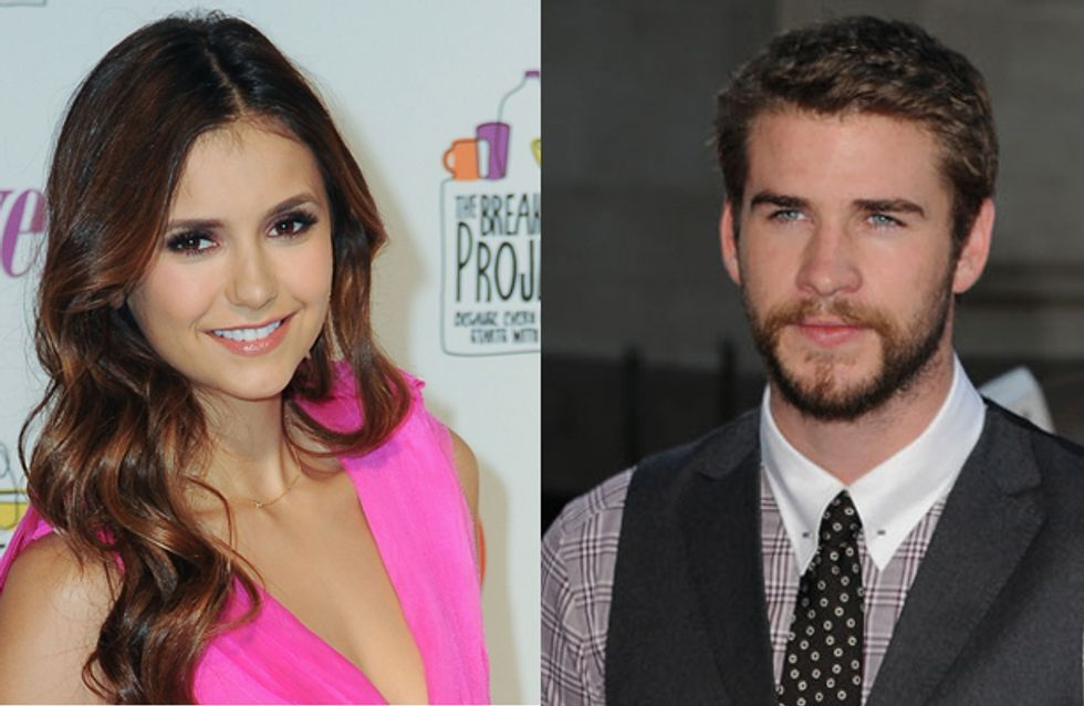 Hot new couple? Nina Dobrev and Liam Hemsworth spotted together in Atlanta