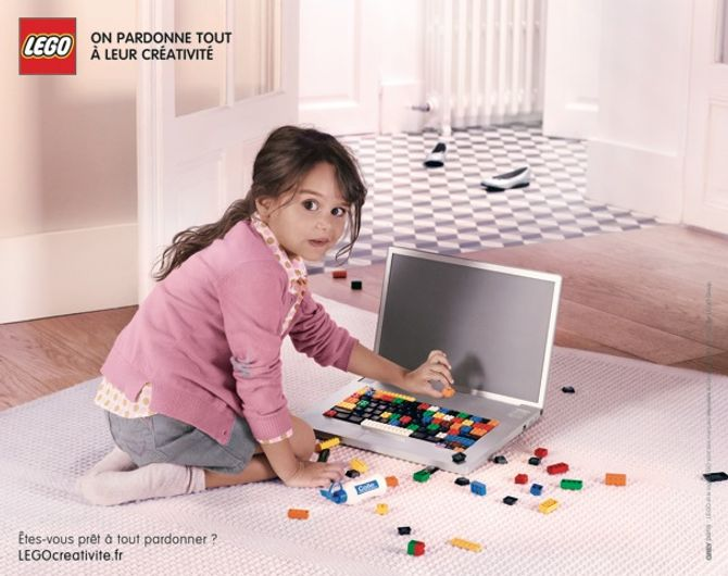 Lego pub créativité