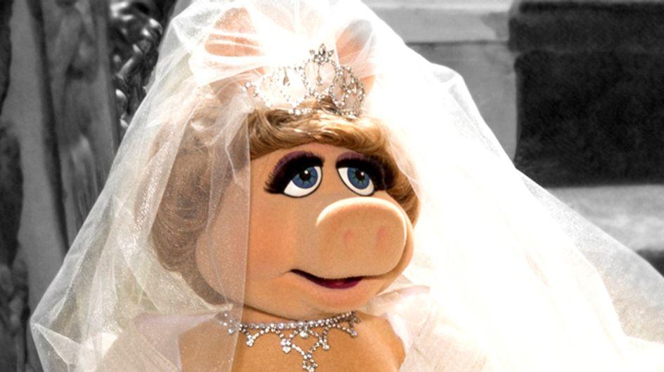 Vivienne Westwood designt Hochzeitskleid für Miss Piggy