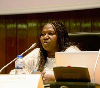 Fatou Secka: He sufrido amenazas pero ninguna ha podido paralizarme
