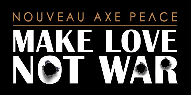 Axe Peace Project avec Lily Allen