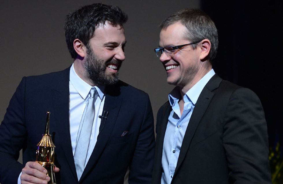 WATCH: How can you win a double date with Ben Affleck and Matt Damon?