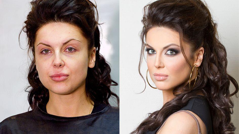 La preuve que le maquillage peut faire des miracles (Photos)