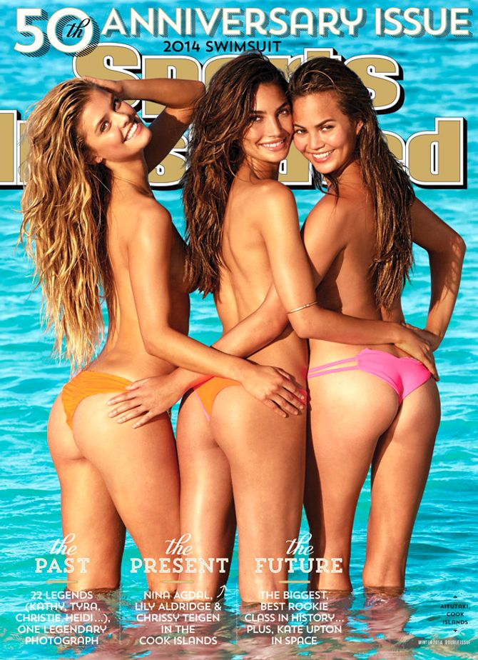 La vraie couverture de Sports Illustrated