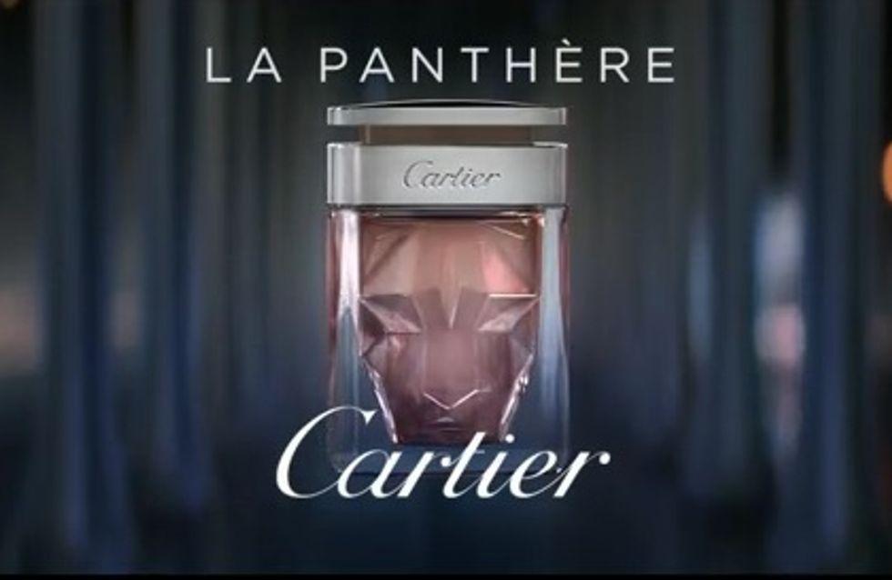 Cartier : Découvrez le nouveau parfum La panthère (vidéo)