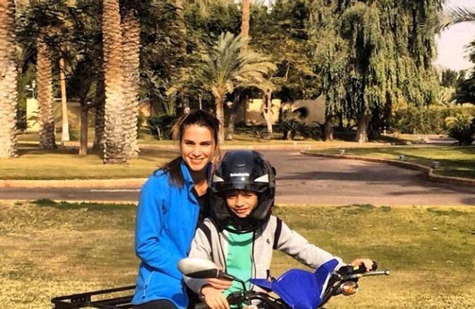 Rania de Jordanie : La reine se dévoile sur le net (Photos)