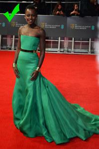 Lupita Nyong'o de Dior Couture