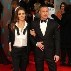 Angelina Jolie et Brad Pitt : Des looks coordonnés pour les BAFTA 2014 (Photos)