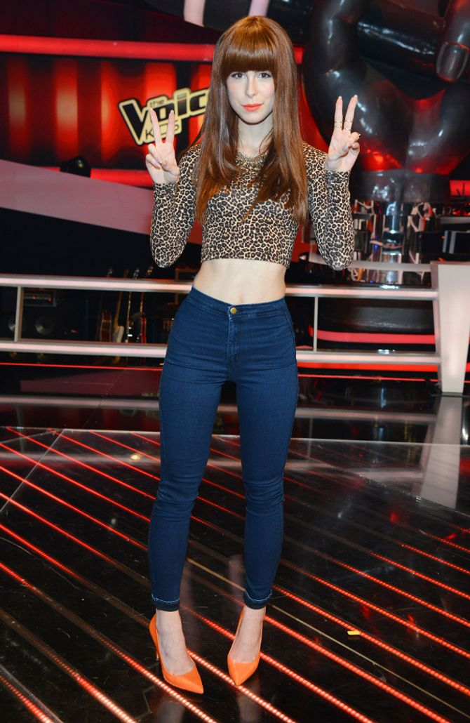 Lena Meyer-Landrut bei 'The Voice of Germany'