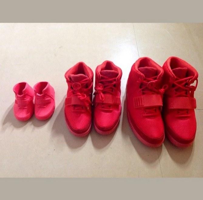 Les red October de la famille Kardashian/West