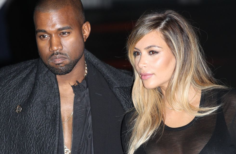 Kim, Kanye, North : Tous fans des sneakers Red October (photo)