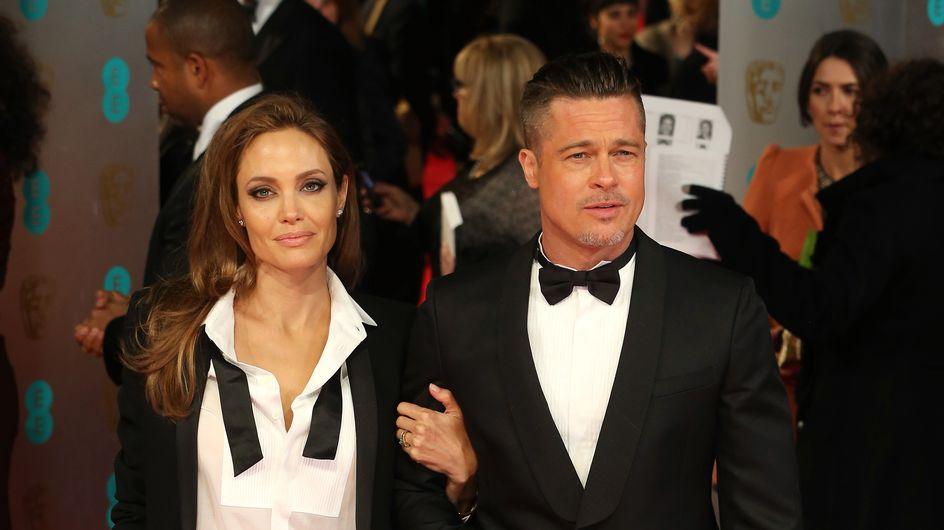 Angelina e Brad Pitt sul red carpet con lo stesso abito