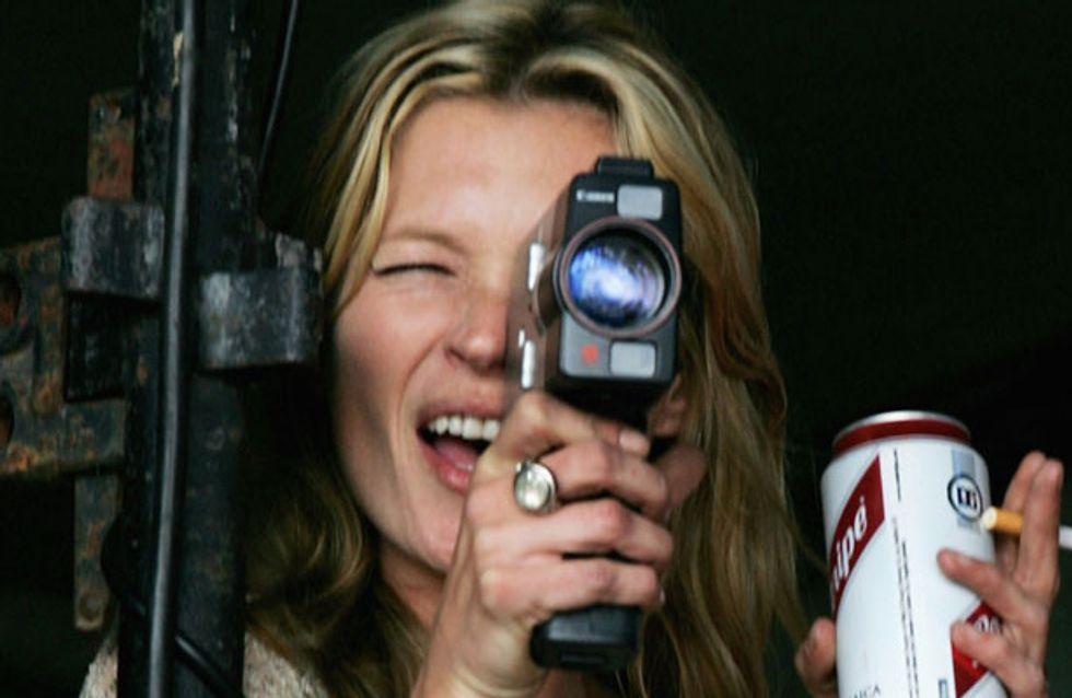Kate Moss ya se prepara para ser directora de cine