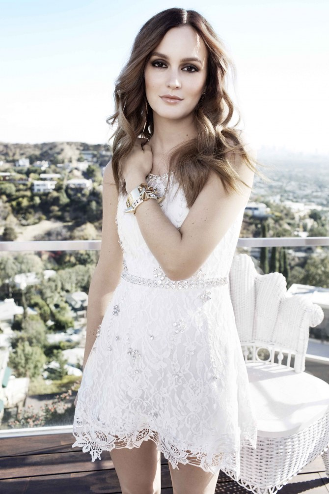Leighton Meester pour Nelly.com