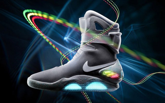 Les fameuses Air Mag signées Nike