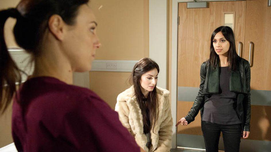 Emmerdale 24/02 – Leyla tries to get Priya help