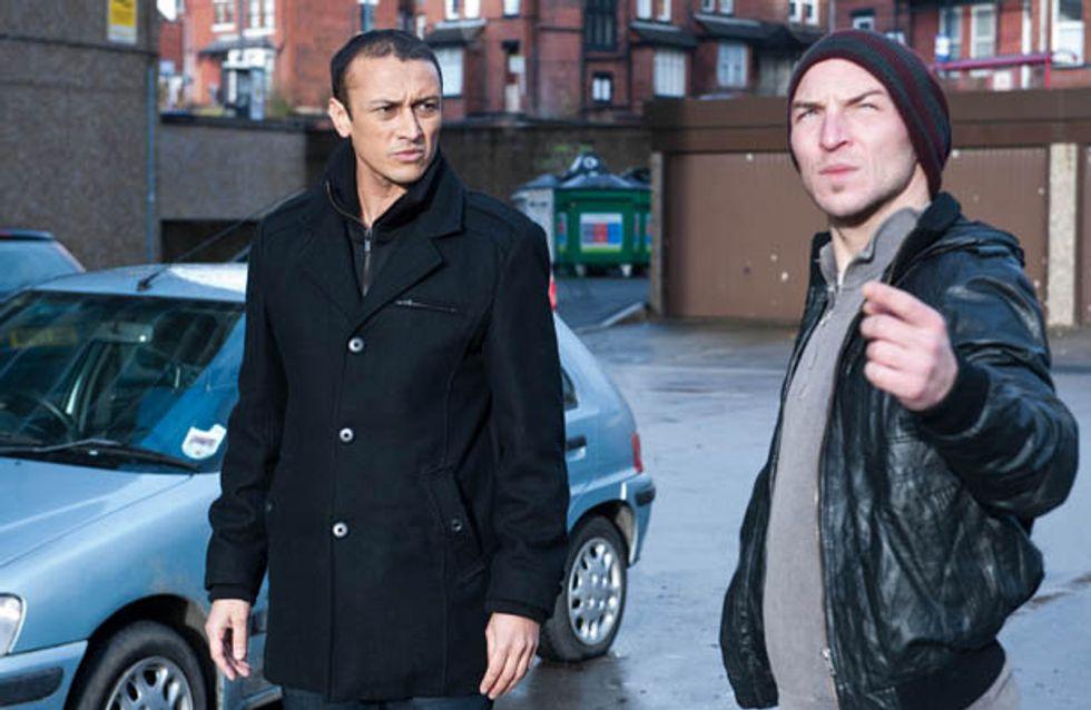 Emmerdale 27/02 – Mark demands £10,000 from Jai