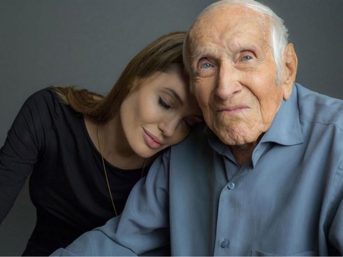 Angelina Jolie et Louis Zamperini