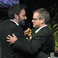Quand Matt Damon faxe ses fesses à Ben Affleck (photo)