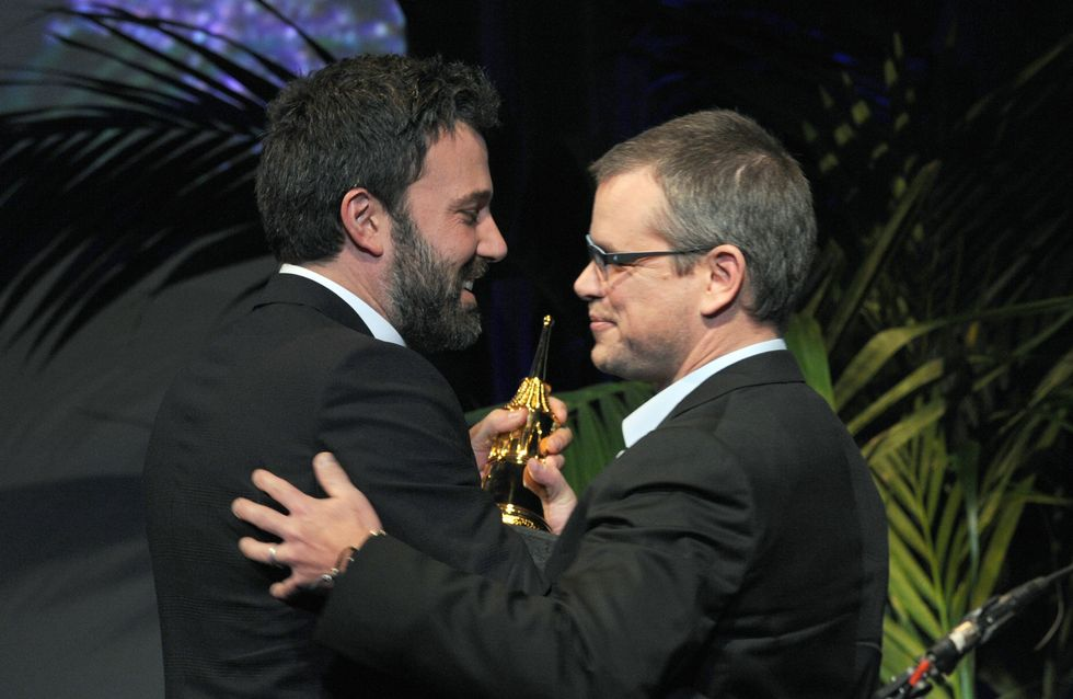 Quand Matt Damon faxe ses fesses à Ben Affleck (photo)