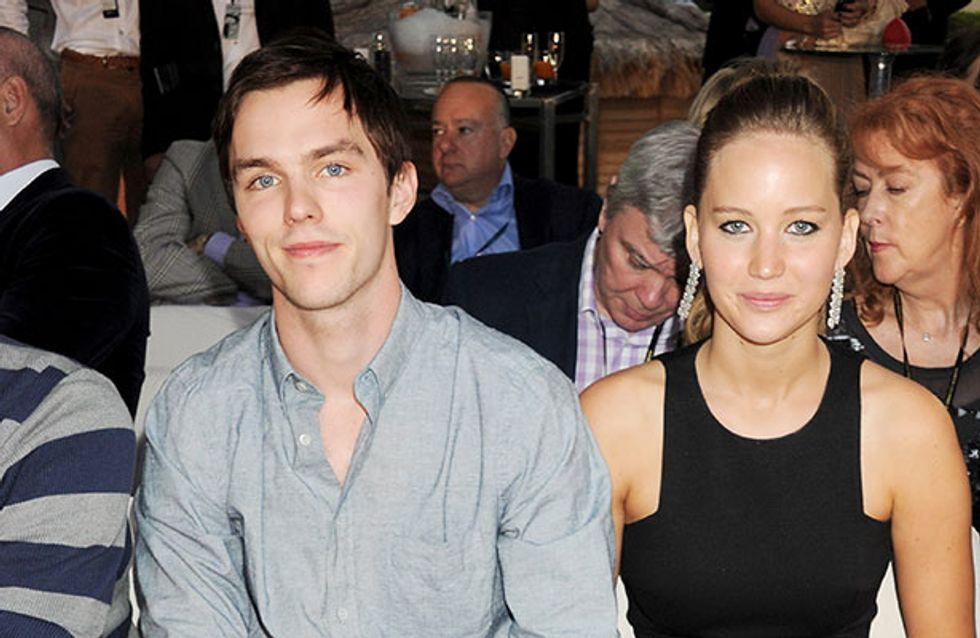 Nicholas Hoult's family love Jennifer Lawrence
