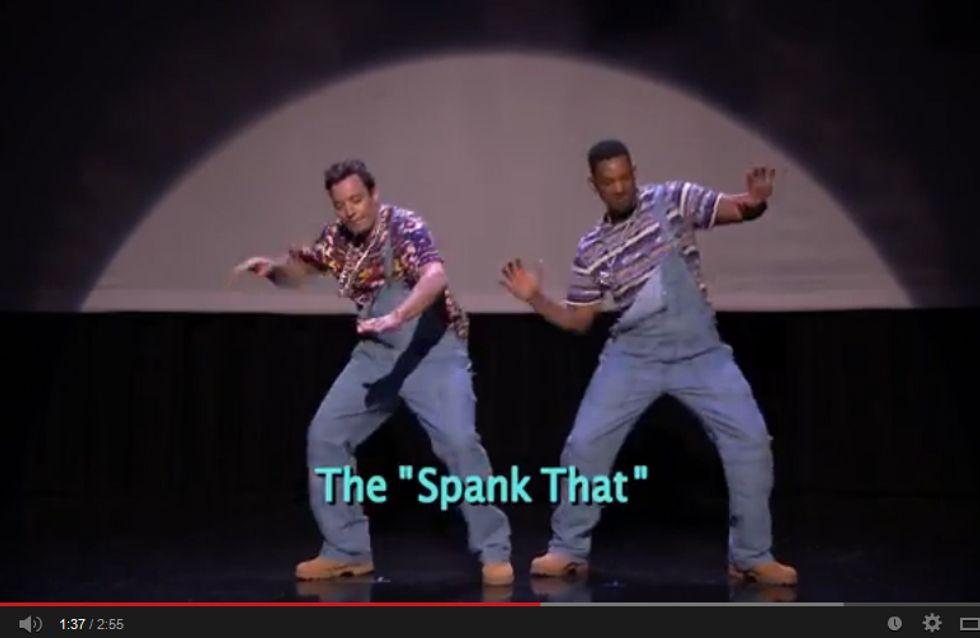 Von wegen Hip-Hop ist tot! Will & Jimmy tanzen sich nen Ast!