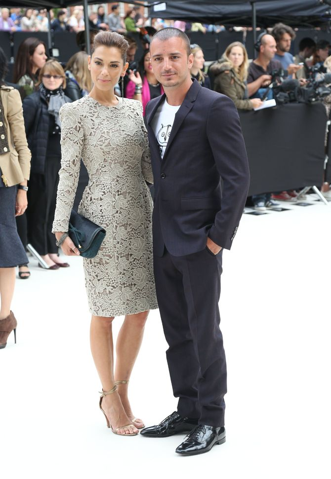 Nicolas Vaporidis e Giorgia Surina