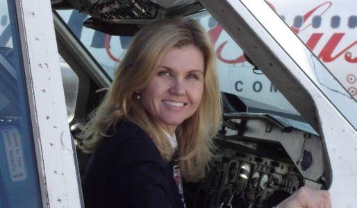 Una de las mujeres piloto de FedEx